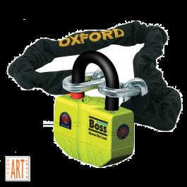 Oxford Boss Alarm met Ketting ART 4 - 120 cm