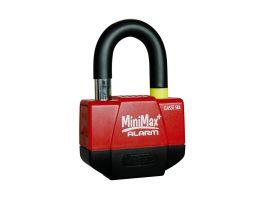 Vector Minimax Schijfremslot met Alarm ART 4 - Rood