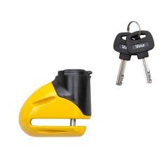 Vinz Eiger Schijfremslot 5,5mm universeel scooter en motor schijfrem slot product met twee sleutels